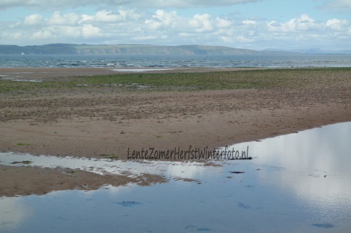 Schotland kustlijn