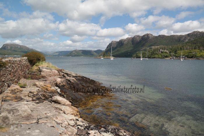 Schotland Plockton baai