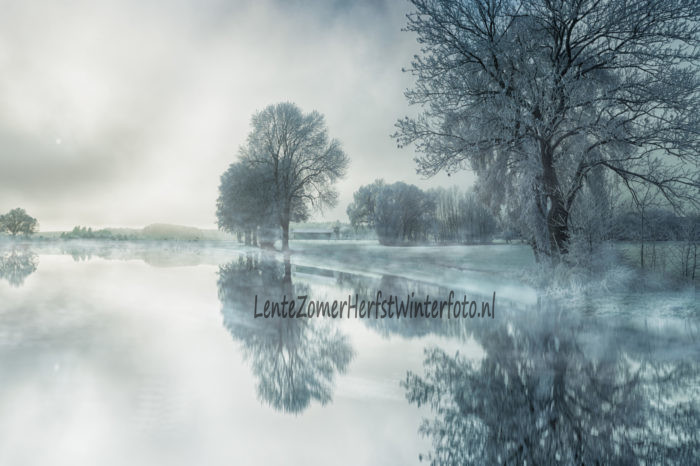 Winterfoto mistig